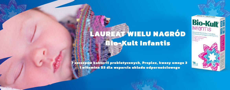 Priobiotyk Bio-Kult Infantis przeznaczony dla niemowląt i małych dzieci
